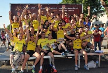 """CLOCKWORK Running en la IV Carrera per la Salut """"Junts Podem"""". 6169 mts. 09 de Junio de 2013"""